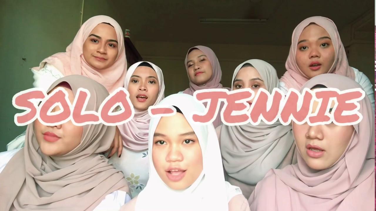 Grup Acapella Hijabers Ini Nyanyikan Solo Milik Jennie